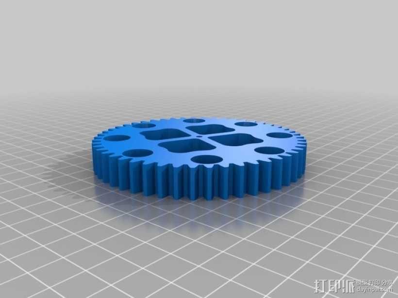 机械化联动装置 3D模型  图13