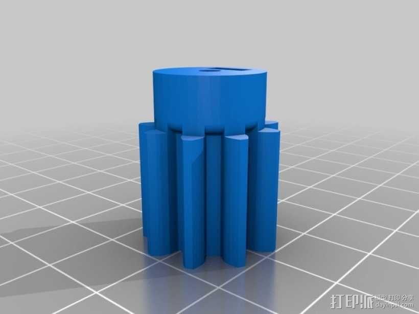 机械化联动装置 3D模型  图14