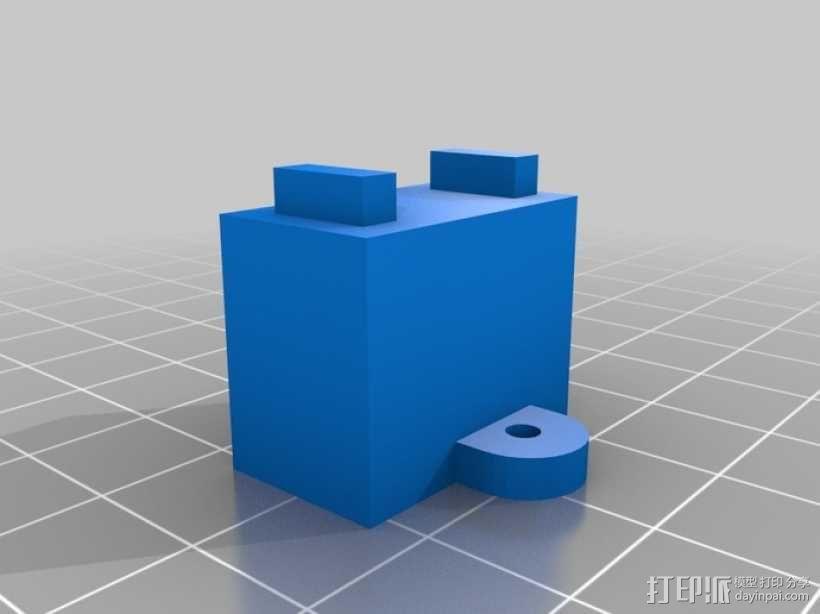 机械化联动装置 3D模型  图18