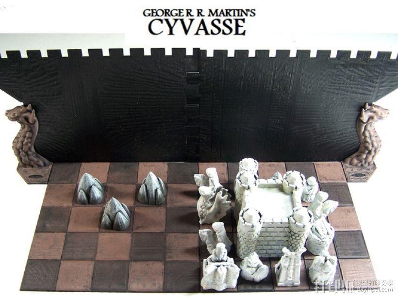 Cyvasse锡瓦斯棋(非官方游戏) 3D模型  图3