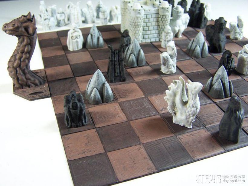 Cyvasse锡瓦斯棋(非官方游戏) 3D模型  图5