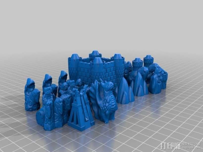 Cyvasse锡瓦斯棋(非官方游戏) 3D模型  图7