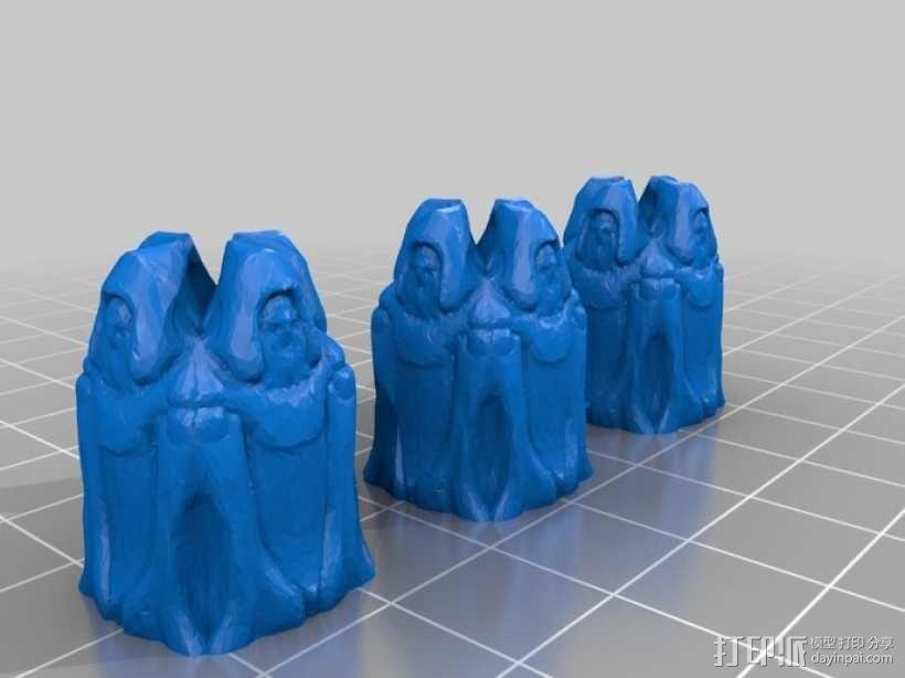 Cyvasse锡瓦斯棋(非官方游戏) 3D模型  图14