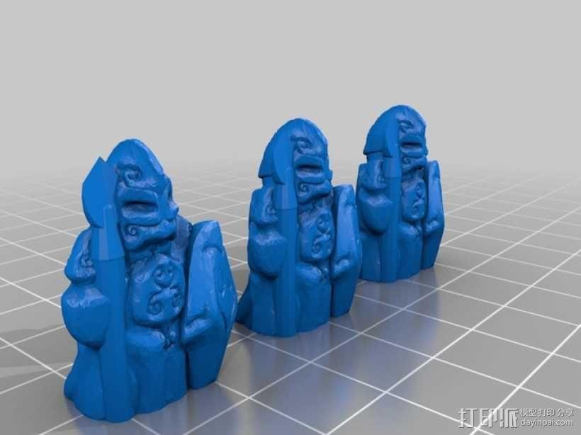 Cyvasse锡瓦斯棋(非官方游戏) 3D模型  图15