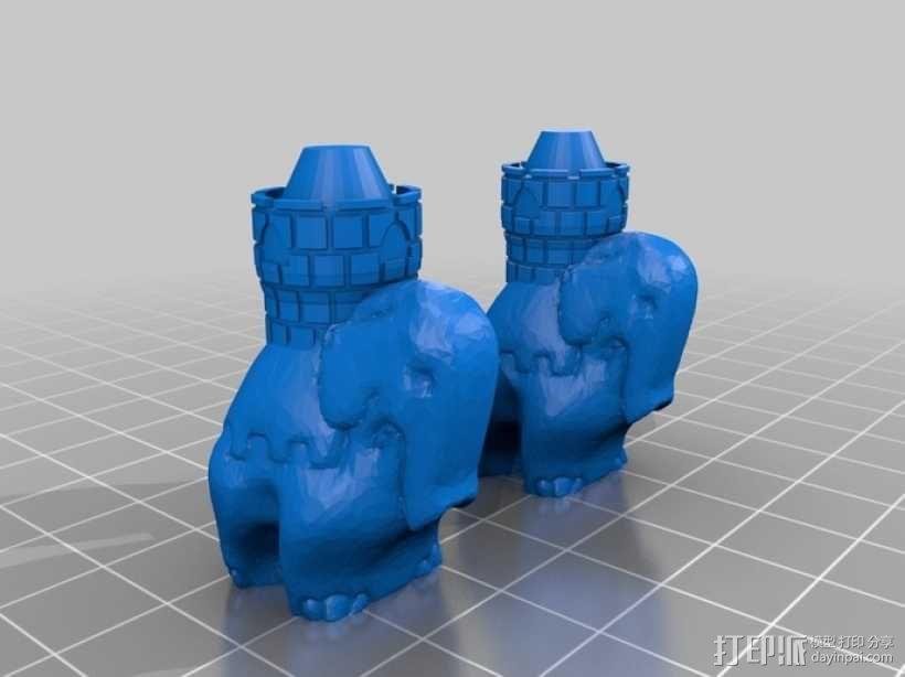 Cyvasse锡瓦斯棋(非官方游戏) 3D模型  图19