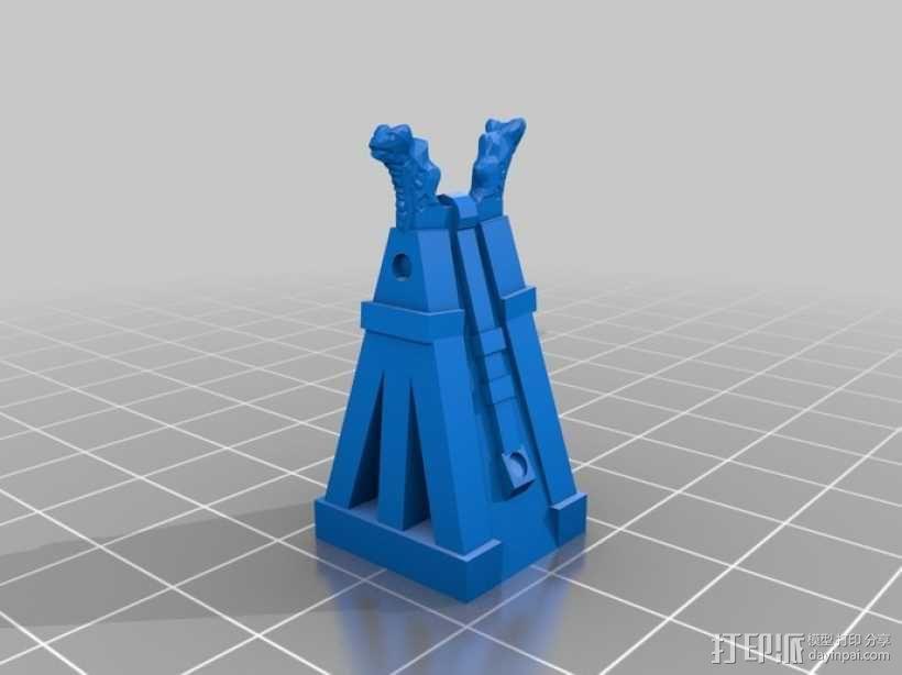 Cyvasse锡瓦斯棋(非官方游戏) 3D模型  图21