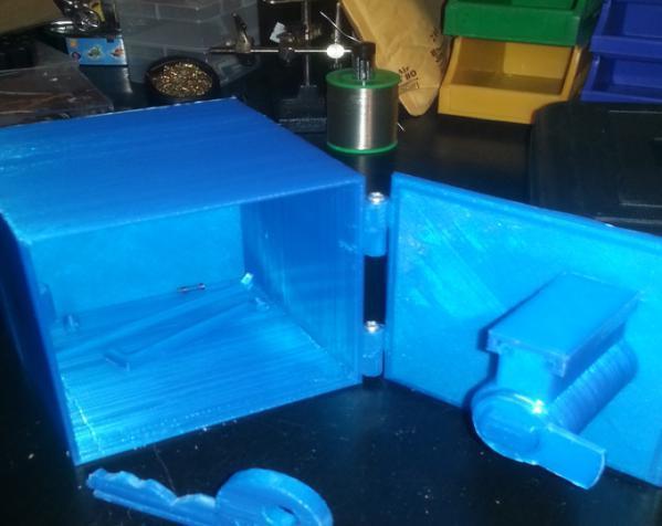 藏宝箱 3D模型  图2