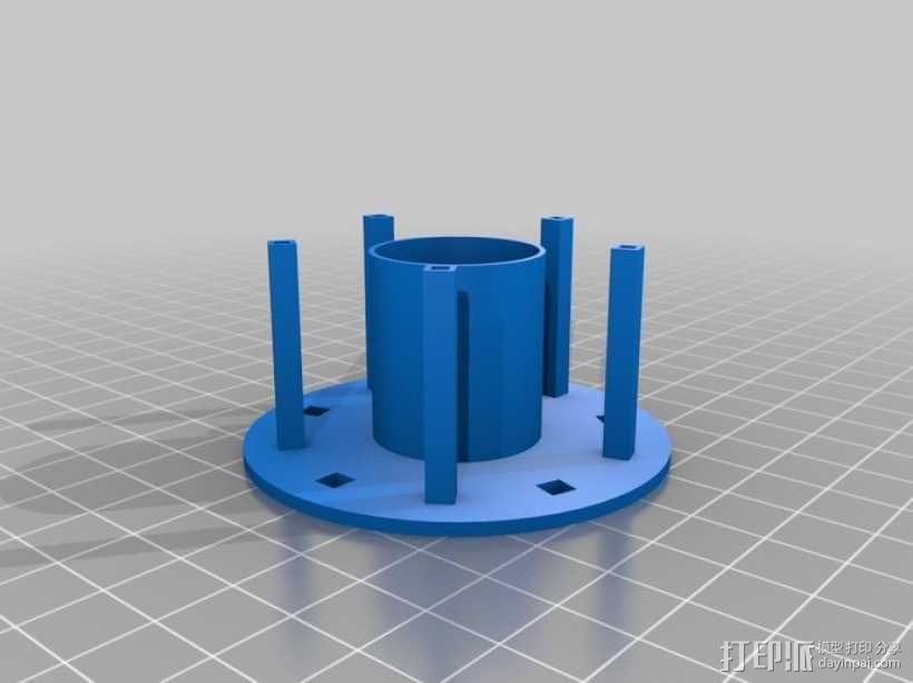 旋转木马 3D模型  图4