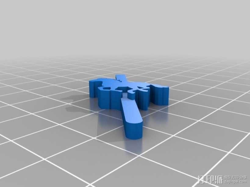 旋转木马 3D模型  图7