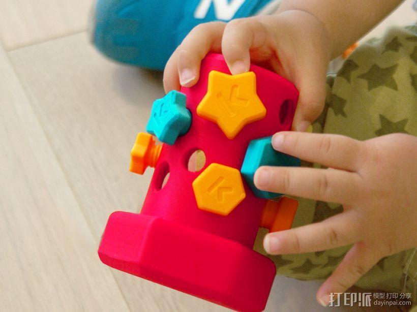 玩具螺钉 3D模型  图1