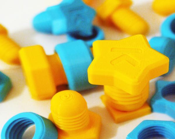 玩具螺钉 3D模型  图4
