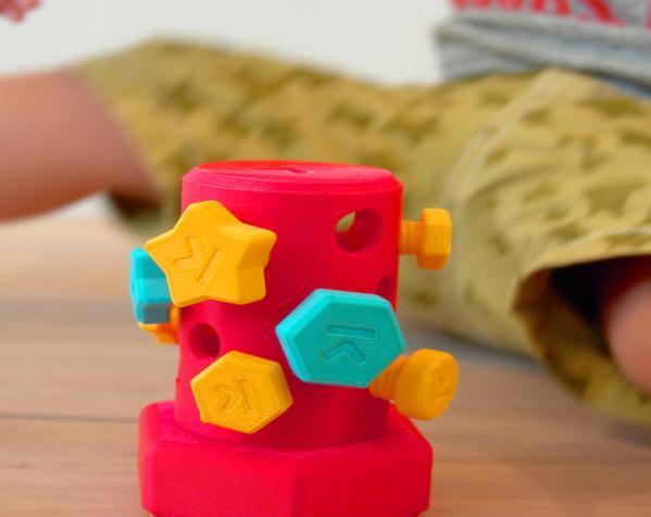 玩具螺钉 3D模型  图3