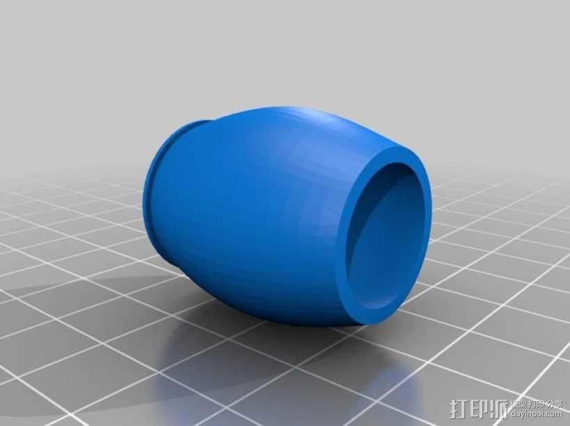 香蕉造型的存钱罐 3D模型  图11