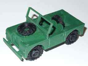 1948 路虎汽车SWB 3D模型