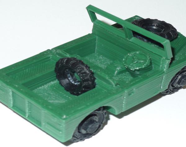 1948 路虎汽车SWB 3D模型  图2