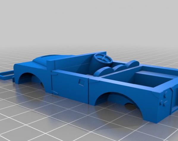 1948 路虎汽车SWB 3D模型  图4