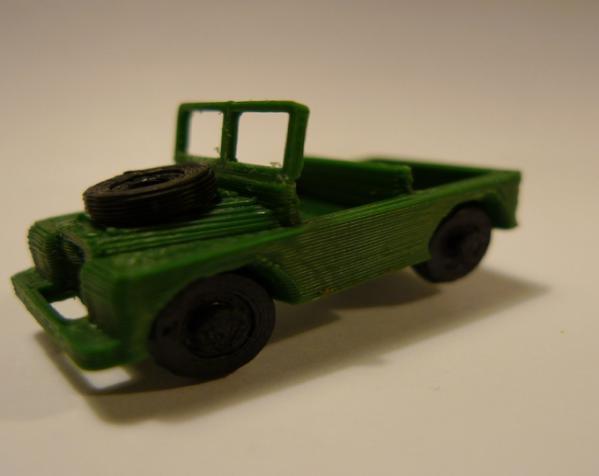 1948 路虎汽车SWB 3D模型  图9