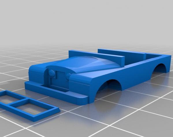 1948 路虎汽车SWB 3D模型  图16