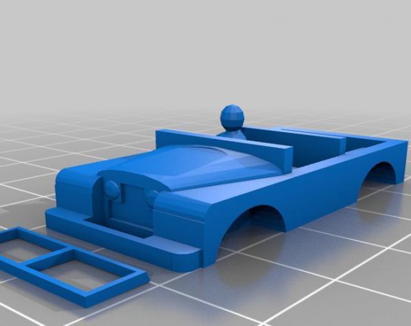 1948 路虎汽车SWB 3D模型  图15