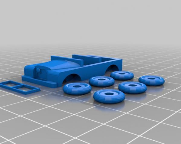 1948 路虎汽车SWB 3D模型  图18