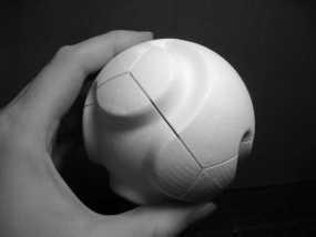 多面球体 3D模型