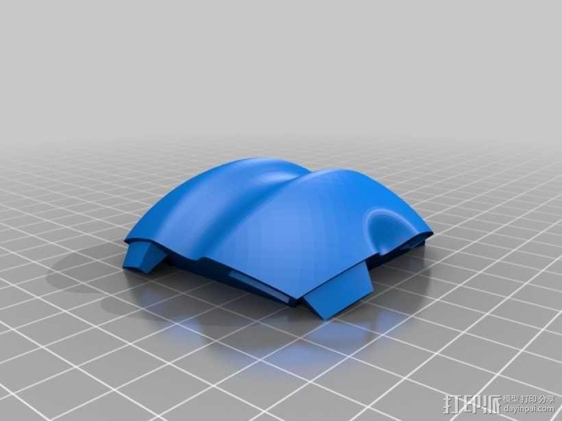 多面球体 3D模型  图2