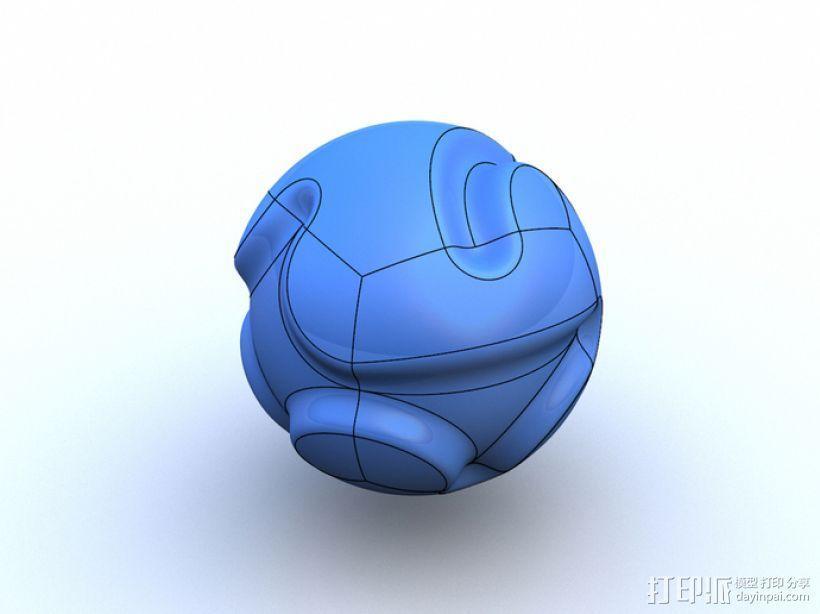 多面球体 3D模型  图10