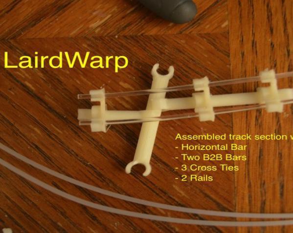 LairdWarp过山车 3D模型  图3