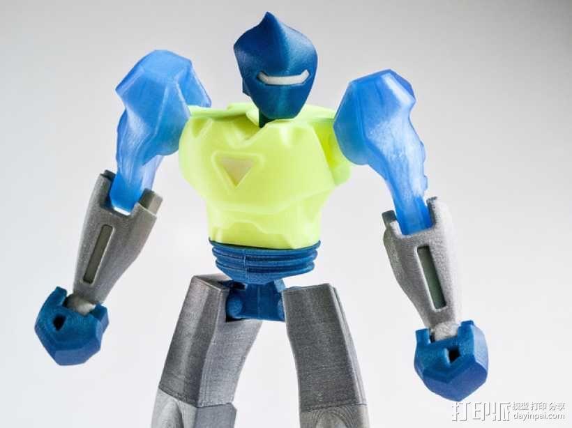 Vertex2机器人 3D模型  图1