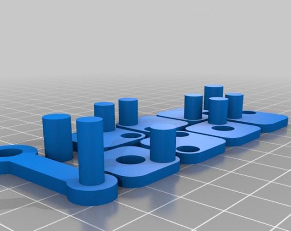 W形发动机 3D模型  图3