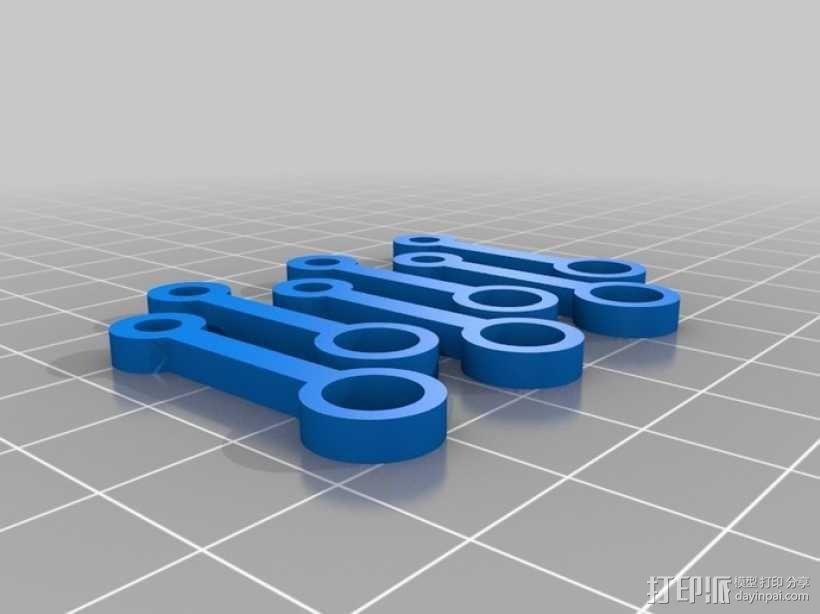 W形发动机 3D模型  图4