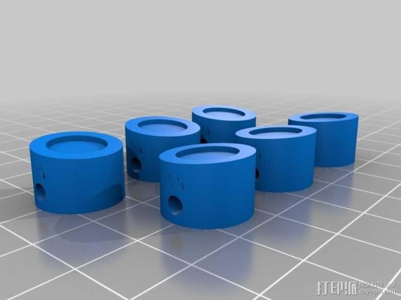 W形发动机 3D模型  图7