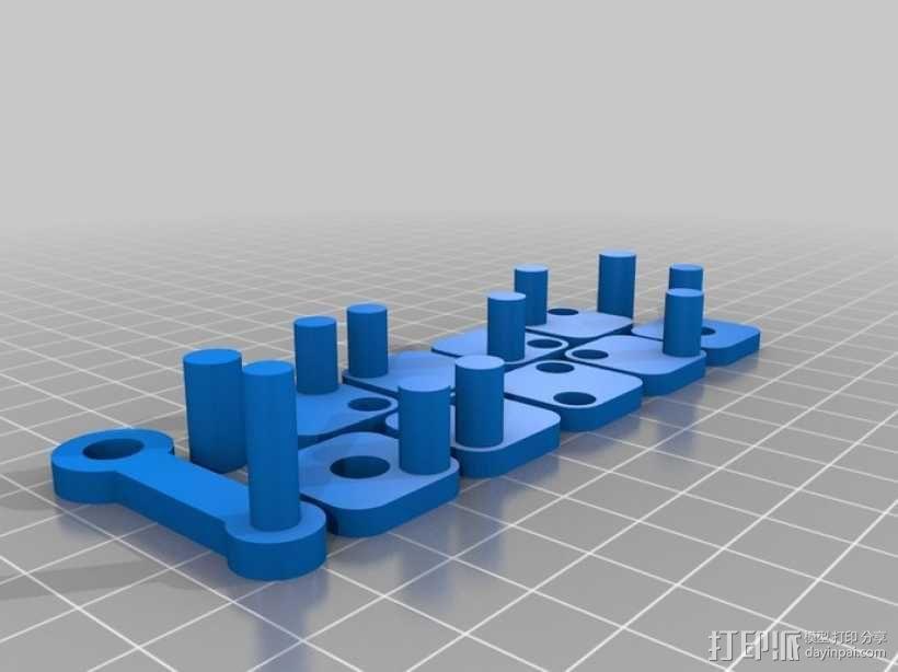 W形发动机 3D模型  图8