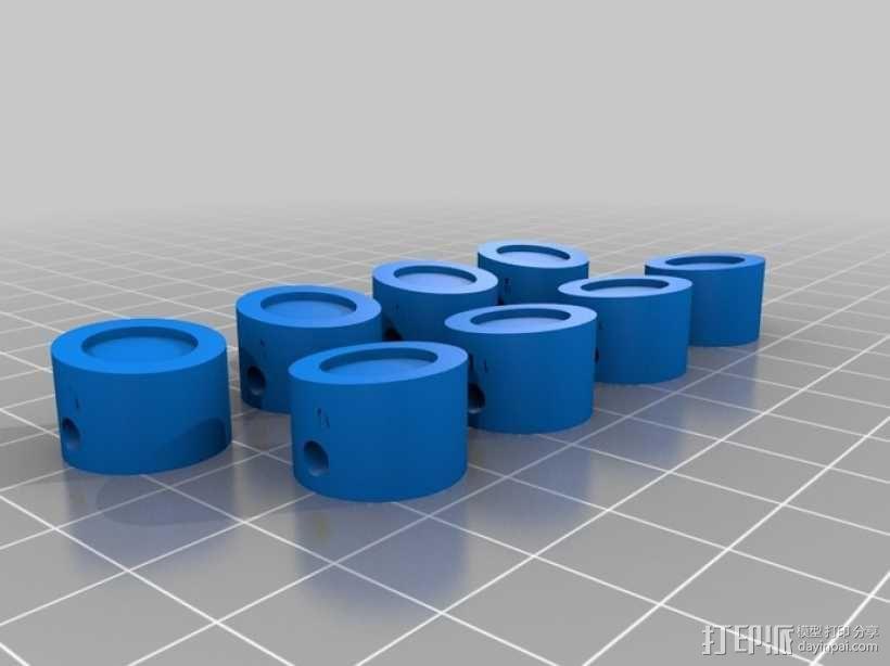 W形发动机 3D模型  图11