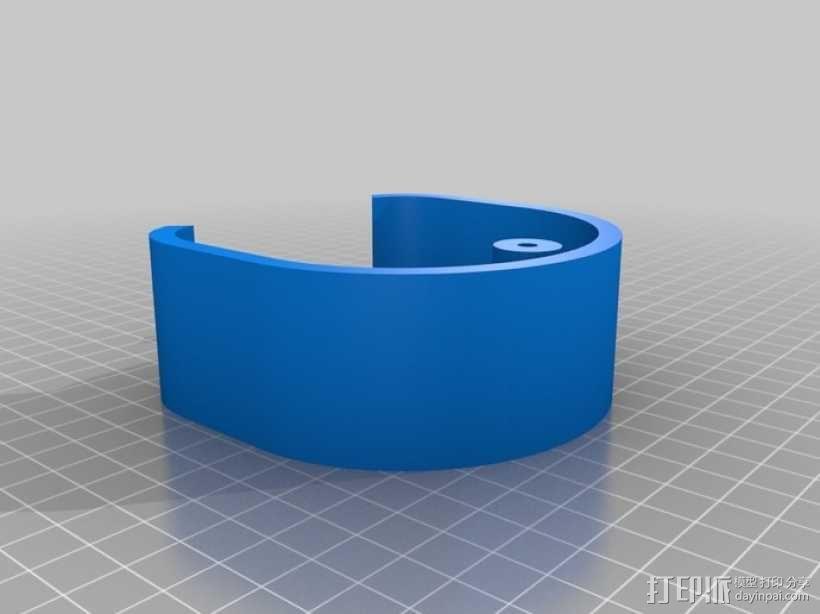 风车形挂钩 3D模型  图6