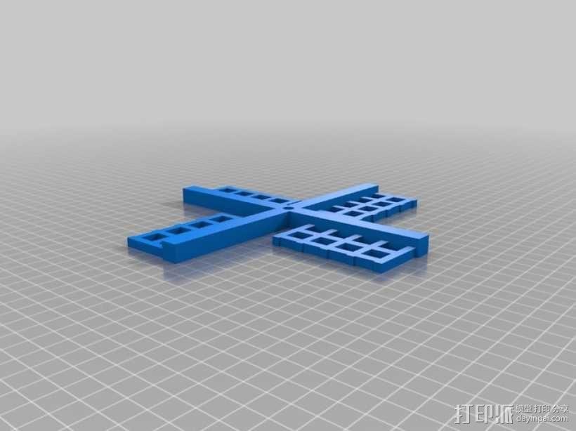 风车形挂钩 3D模型  图5