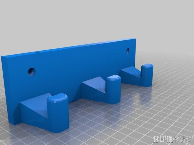 风车形挂钩 3D模型  图9