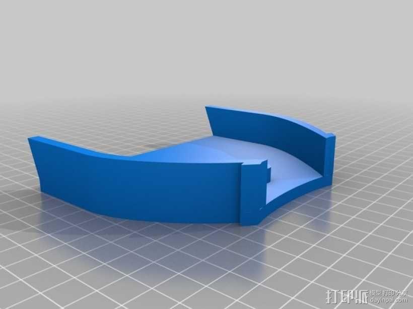 风车形挂钩 3D模型  图7