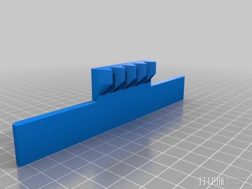风车形挂钩 3D模型  图11