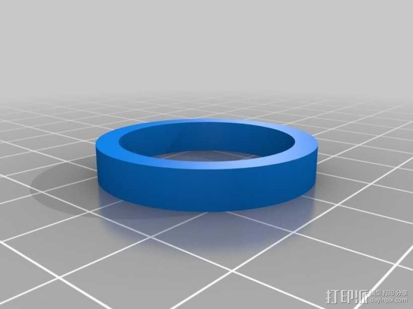 风车形挂钩 3D模型  图13