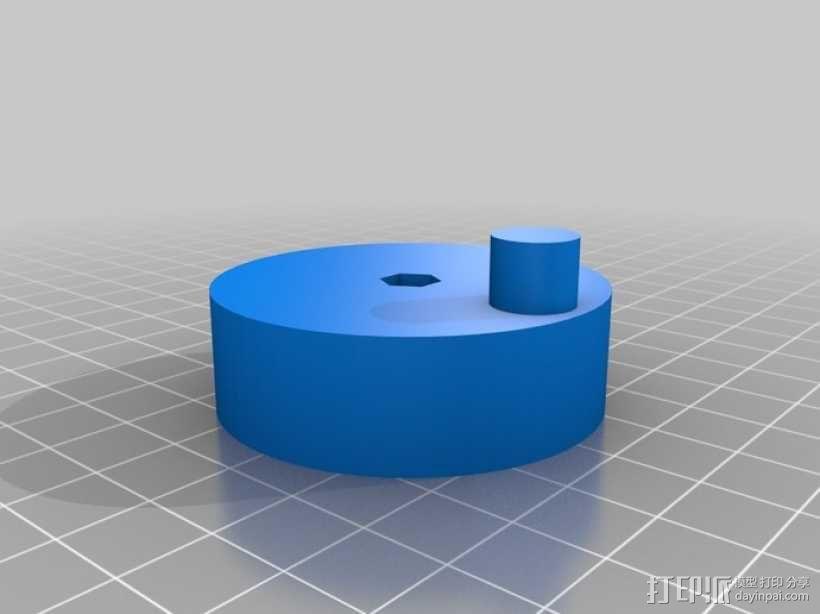 风车形挂钩 3D模型  图14