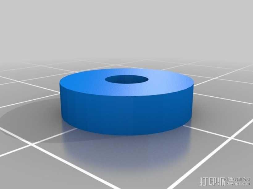 风车形挂钩 3D模型  图15