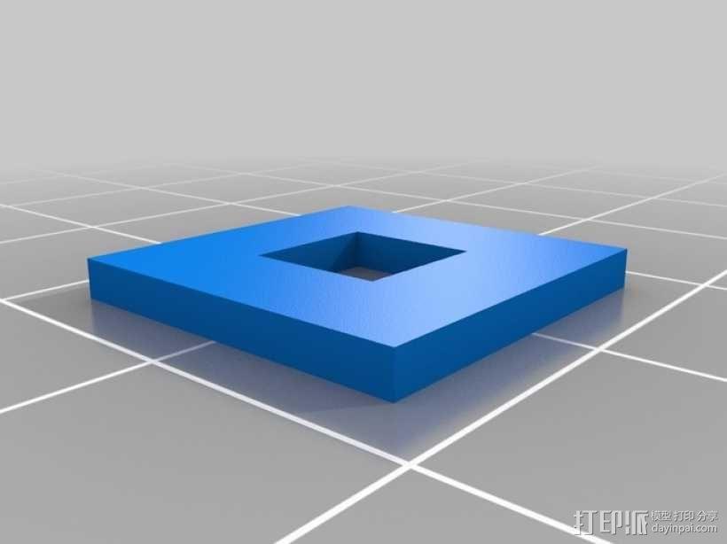 滚珠滑道模型Marblevator 3D模型  图5