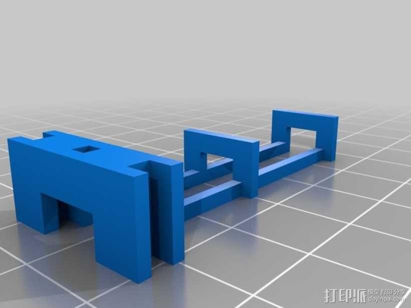 滚珠滑道模型Marblevator 3D模型  图8