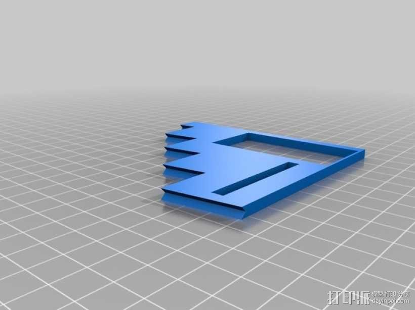 滚珠滑道模型Marblevator 3D模型  图13