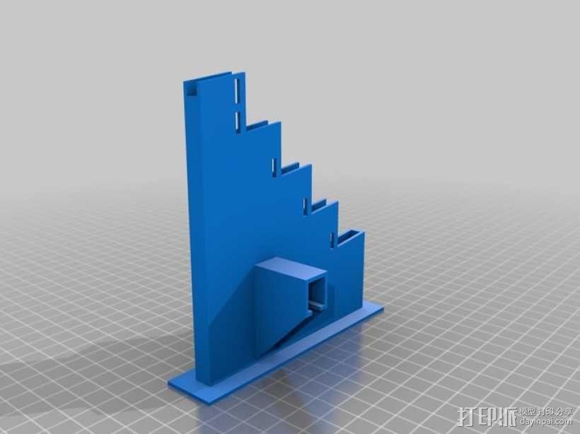 滚珠滑道模型Marblevator 3D模型  图14
