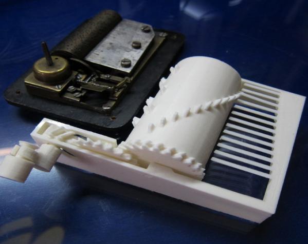 参数化音乐盒 3D模型  图4