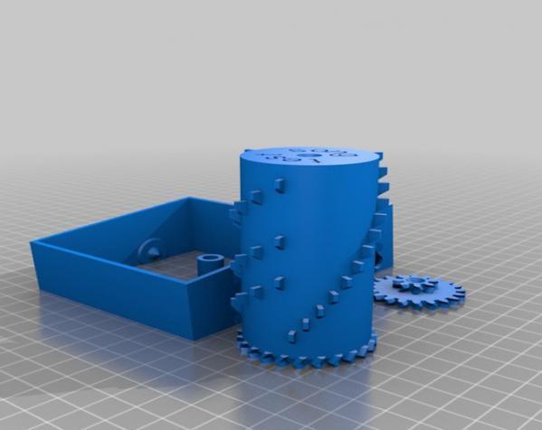 参数化音乐盒 3D模型  图8