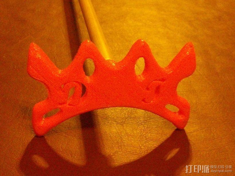 台球靠杆器 3D模型  图1