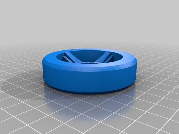 涡轮驱动的小汽车 3D模型  图2